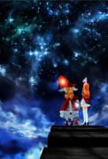 レア様『城から見える星空』