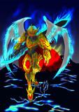 「我が名はテーゼ…」 金色の天使キャスト