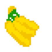 バナナ ドット絵