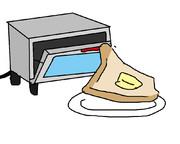 自分から焼かれに行くパン
