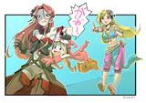 やばばーな姫とドSな王女とペット(にんげん)