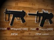 【MMD】MP5K ProtoType【モデル配布】