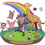 雨上がりの空 虹を描いて