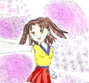 桜とあかり