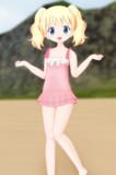 【MMDモデル配布】 アリス・カータレットの水着