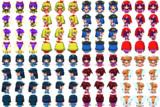 RPGツクールMV用歩行グラフィック 東方キャラクターまとめ10
