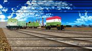 【MMD鉄道貨物フェスティバル】すくすくコンテナの密かな遊び