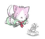 ネズミ提督と多摩ネコ