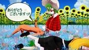 幼・・・霊夢??身内企画リレー『お花畑のこわ~い妖怪』