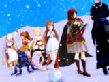 【MMD】ウィンターローズ討伐任務行軍【花騎士劇場?】