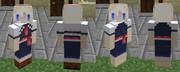 【Minecraft】自作スキンその1 アリス・マーガトロイド