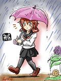 しれーかん 傘入る?