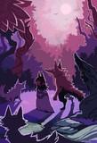 人狼たちとムラサキの夜