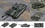 MMD用モブ主力戦車1955セット
