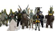 ウルトラマンの怪獣たち