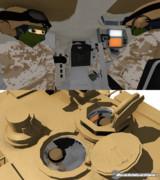 M1A2砲塔内部