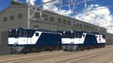 【MMD鉄道】EF64-1000JR貨物色【モデル配付】