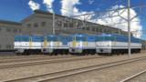【モデル配付】EF64-0 JR貨物更新色【MMD鉄道】