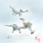 緊急量産戦闘機 アームファイターRXa-80B