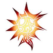 太陽のマーク
