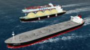 海の日と船 MMD海運