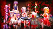 【幻想花祭】紅魔館宵の茶会