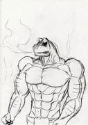 激おこプンプン蛙。