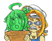 青銅のでちマスク