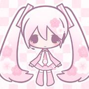 フリーアイコン(桜ミク)