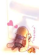 ポケモンGOに夢中なイカちゃん