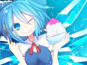 チルノちゃんとかき氷