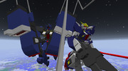 【minecraft】モノアイガンダムズ【jointblock】