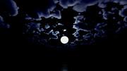 【MMDステージ配布】真夜中の月 TB9【スカイドーム】