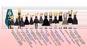 ルーミアモデル身長比較2016