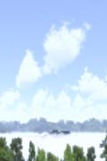 【MMD風景画祭】雲海の博麗神社