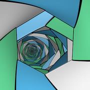 無限鏡の部屋48「六角形」