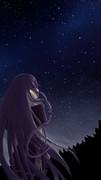 修行中-夜空とIA描いてみた