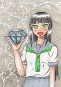ダイヤさんが持つダイヤモンド