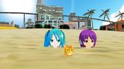 夏の浜辺(2)