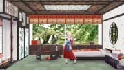 【MMDステージ配布】神楽さんの部屋