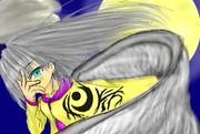 月下の女神