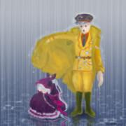 Pandora's Actor in the rain
