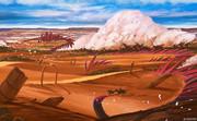 砂漠を行く