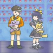 Pandora's Actor in the Pokemon Laboratory