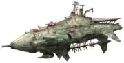 第七艦隊旗艦 狙撃戦艦ユィーラシエ