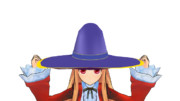 【MMDアクセサリ配布】魔女帽子配布