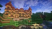 【Minecraft】洋館【英語を勉強できる街 つくりませんか?】