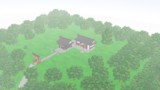 【MMD】博麗神社の丘ステージに霧をかけてみた