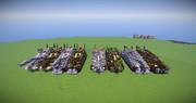 ここ一ヶ月で開発した戦車と機動戦闘車たち