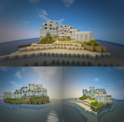 【Minecraft】リゾー島